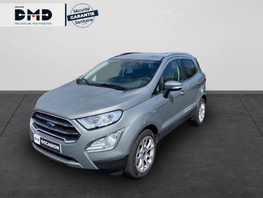Ford Ecosport 1.0 Ecoboost 125ch S&s Bvm6 Titanium 5p - Visuel #1