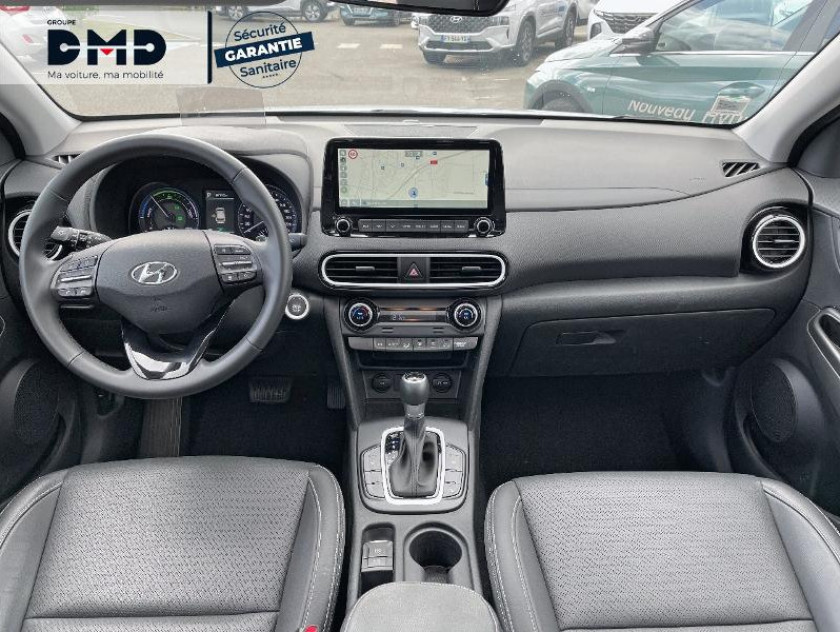 Hyundai Kona 1.6 Gdi Hybrid 141ch Executive Dct-6 Euro6d-t Evap - Visuel #5