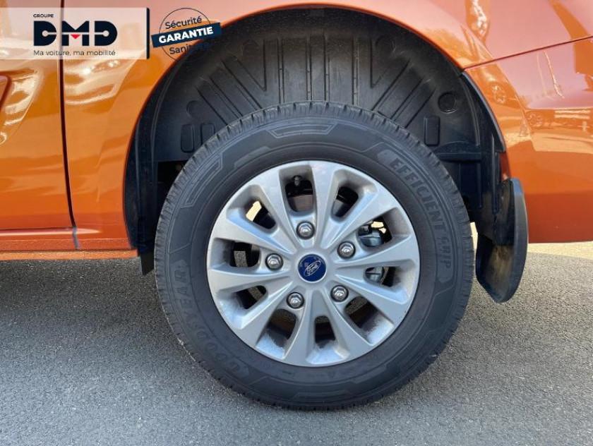 Ford Transit Custom Fg 300 L1h1 2.0 Tdci 130 S&s Cabine Approfondie Limited Bva6 7c - Visuel #13