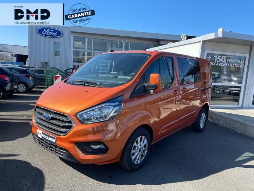 Ford Transit Custom Fg 300 L1h1 2.0 Tdci 130 S&s Cabine Approfondie Limited Bva6 7c - Visuel #14