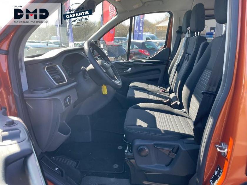Ford Transit Custom Fg 300 L1h1 2.0 Tdci 130 S&s Cabine Approfondie Limited Bva6 7c - Visuel #9