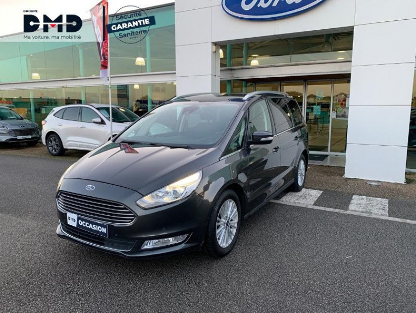 Ford Galaxy 2.0 Tdci 180ch Stop&start Titanium Powershift - Visuel #1