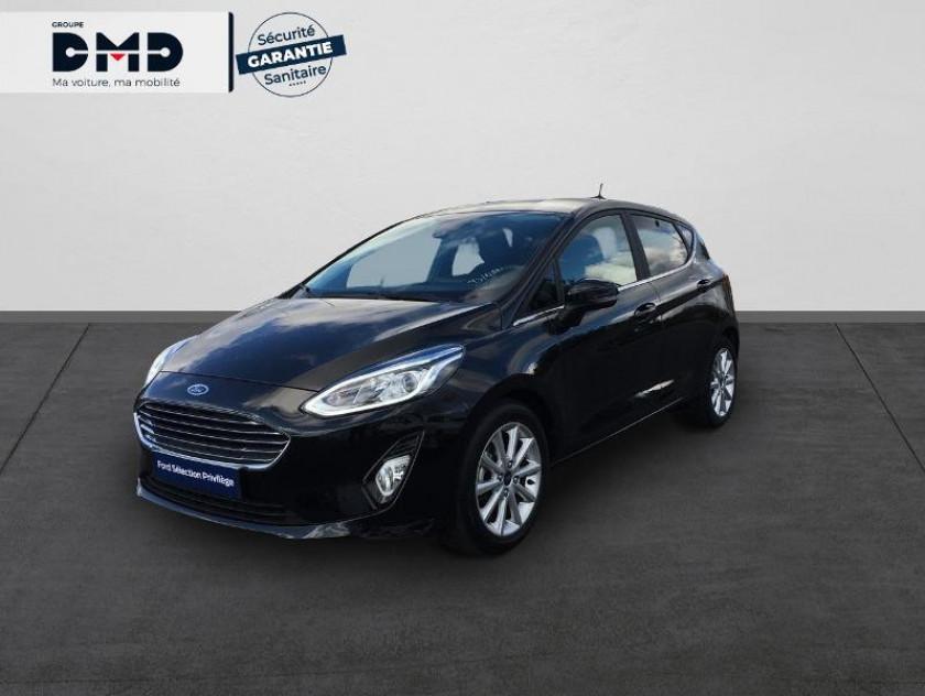 Ford Fiesta 1.0 Ecoboost 100ch Stop&start Titanium 5p Euro6.2 - Visuel #1