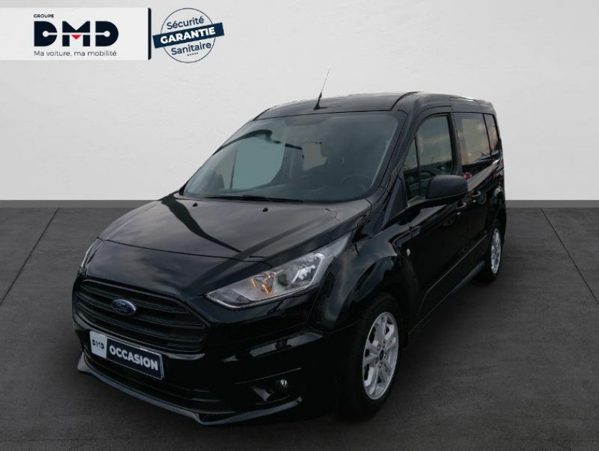 Ford Transit Connect L1 1.5 Ecoblue 100ch Cabine Approfondie Trend - Visuel #1