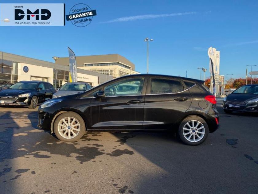 Ford Fiesta 1.0 Ecoboost 100ch Stop&start Titanium 5p Euro6.2 - Visuel #2