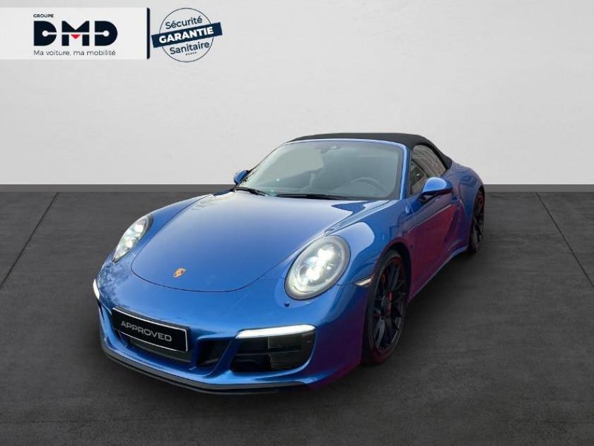 Porsche 911 Cabriolet 3.0 450ch 4 Gts Pdk - Visuel #1