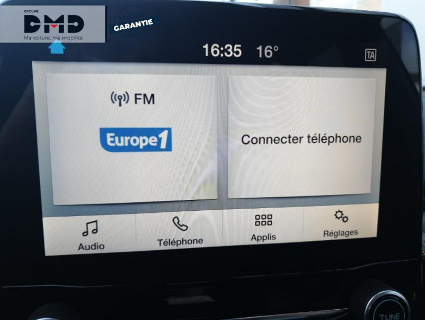 Ford Fiesta 1.0 Ecoboost 100ch Stop&start Titanium 5p Euro6.2 - Visuel #6
