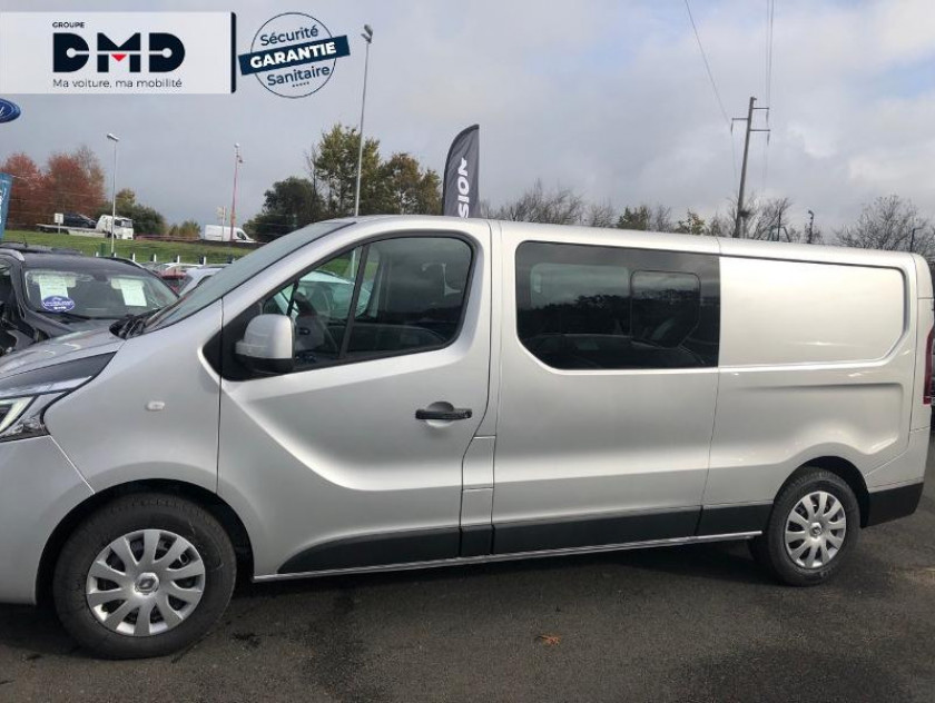 Renault Trafic Fg L2h1 1200 2.0 Dci 145ch Energy Cabine Approfondie Grand Conf - Visuel #2