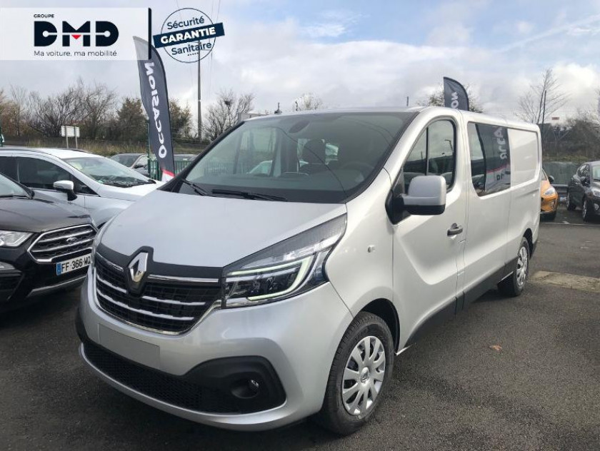 Renault Trafic Fg L2h1 1200 2.0 Dci 145ch Energy Cabine Approfondie Grand Conf - Visuel #14