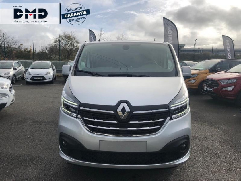 Renault Trafic Fg L2h1 1200 2.0 Dci 145ch Energy Cabine Approfondie Grand Conf - Visuel #4