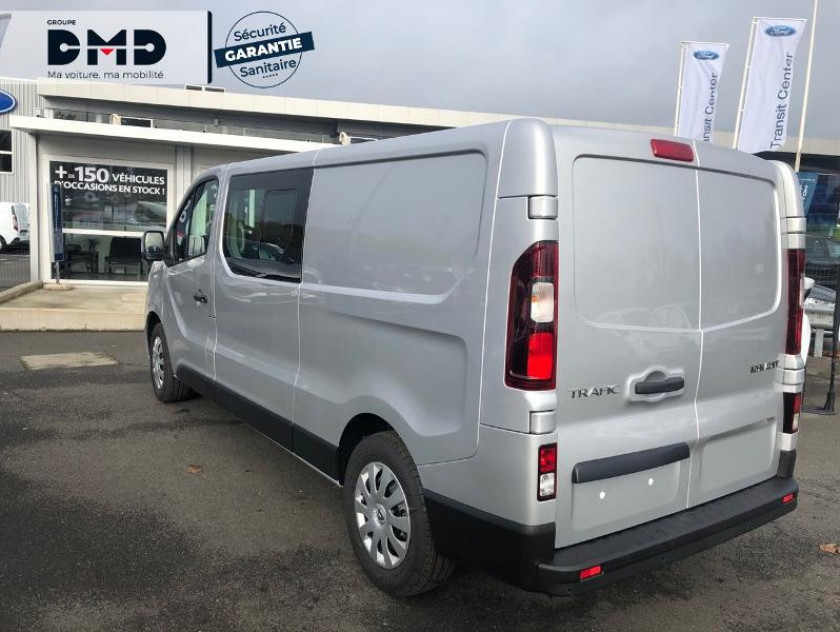 Renault Trafic Fg L2h1 1200 2.0 Dci 145ch Energy Cabine Approfondie Grand Conf - Visuel #3