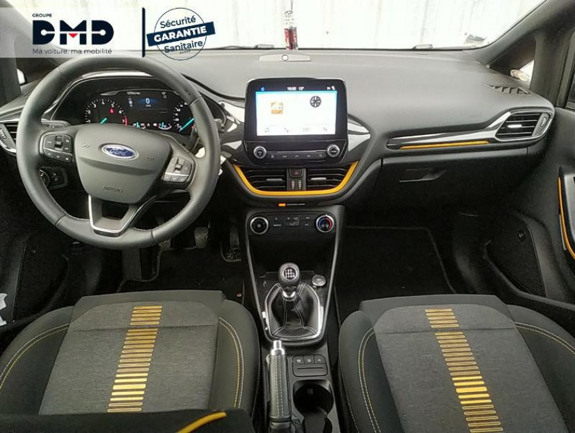 Ford Fiesta Active 1.0 Ecoboost 100ch S&s Pack Euro6.1 - Visuel #5