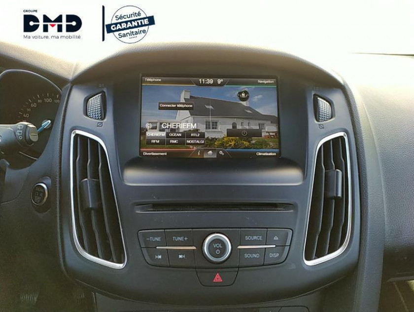 Ford Focus 1.6 Tdci 115ch Stop&start Titanium - Visuel #6