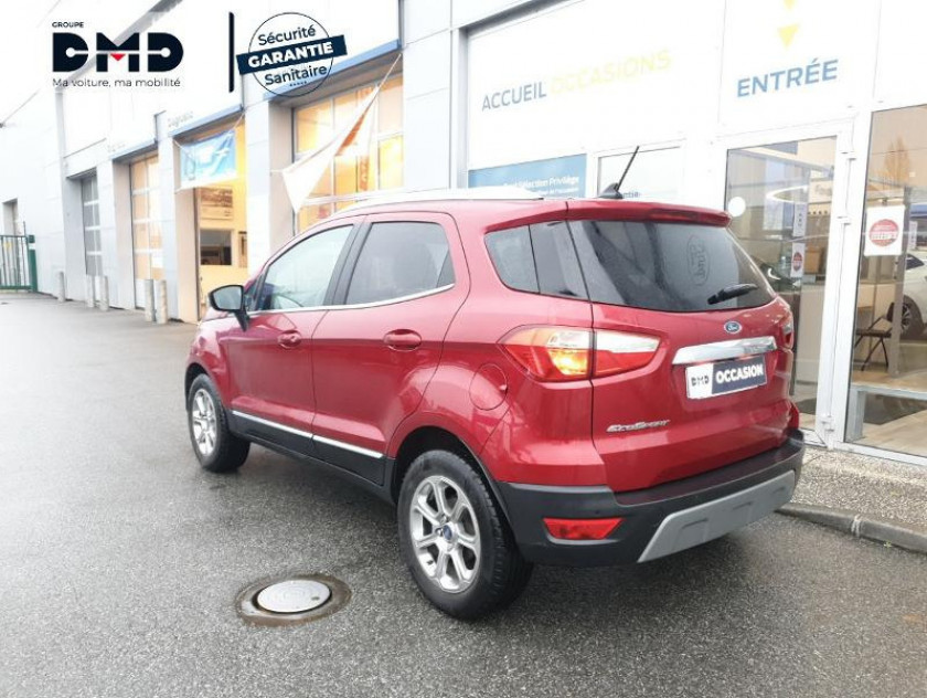 Ford Ecosport 1.0 Ecoboost 125ch Titanium Business Euro6.2 - Visuel #3
