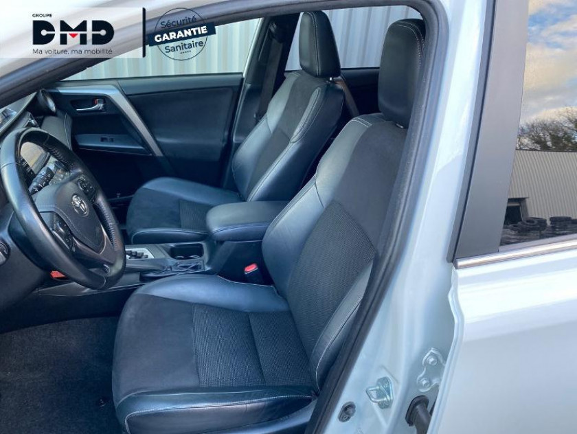 Toyota Rav4 197 Hybride Black Edition 2wd Cvt - Visuel #9