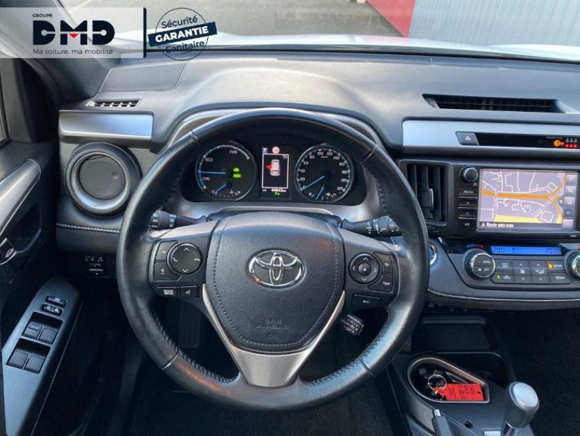 Toyota Rav4 197 Hybride Black Edition 2wd Cvt - Visuel #7