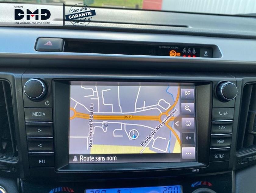 Toyota Rav4 197 Hybride Black Edition 2wd Cvt - Visuel #6