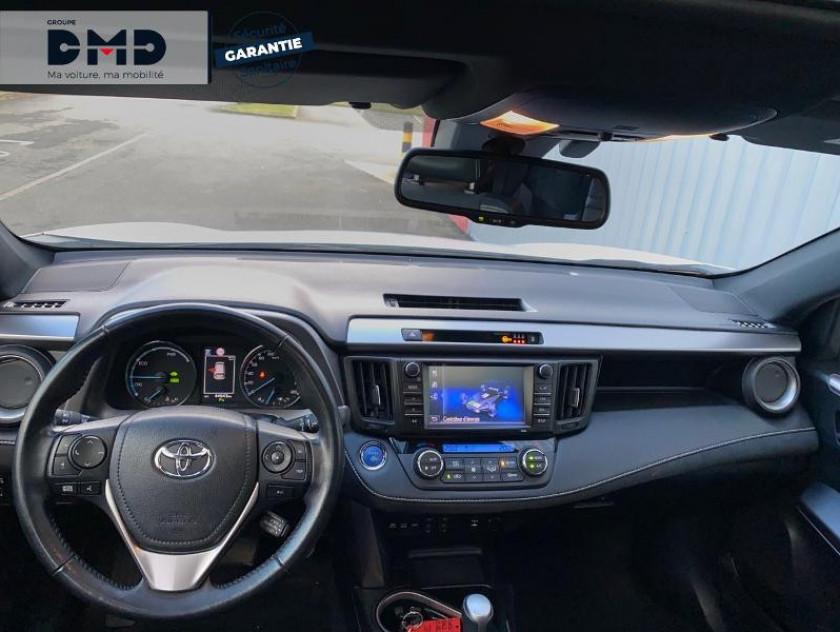Toyota Rav4 197 Hybride Black Edition 2wd Cvt - Visuel #5