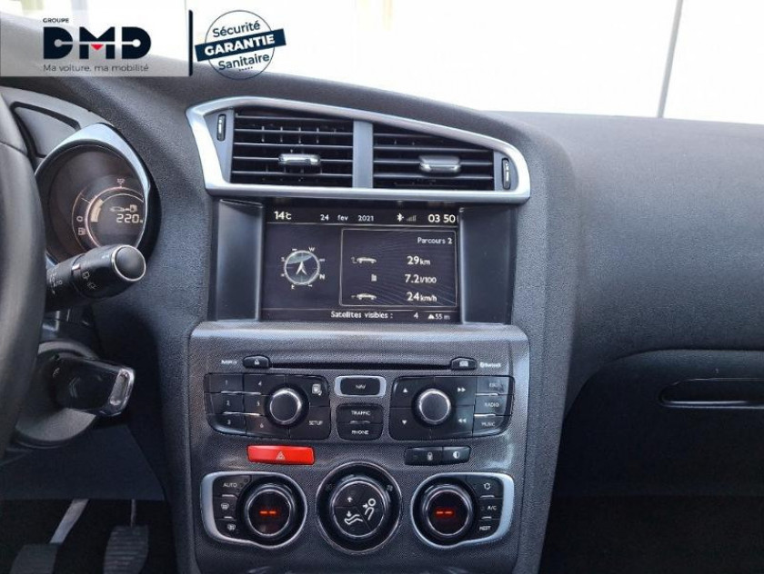 Citroen C4 1.6 E-hdi 115 Fap Exclusive + 5cv - Visuel #6
