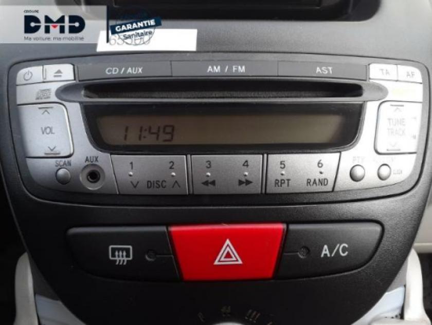 Toyota Aygo 1.0 Vvt-i 68ch Connect 5p - Visuel #6