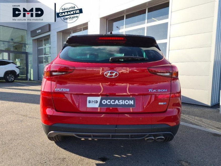 Hyundai Tucson 1.6 Crdi 115ch Hybrid 48v N Line Edition Euro6d-evap - Visuel #11