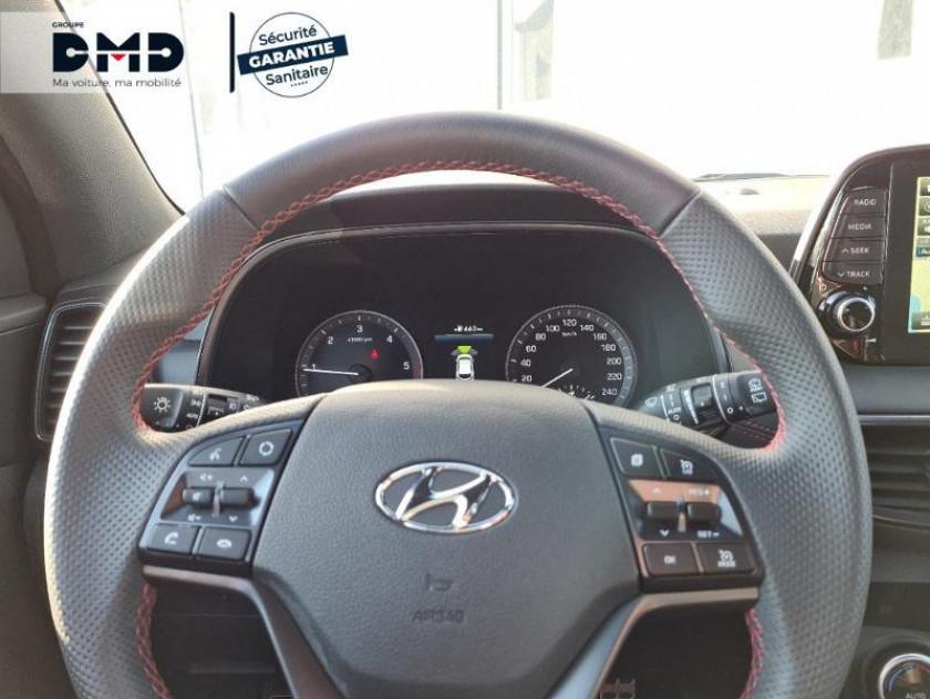 Hyundai Tucson 1.6 Crdi 115ch Hybrid 48v N Line Edition Euro6d-evap - Visuel #7
