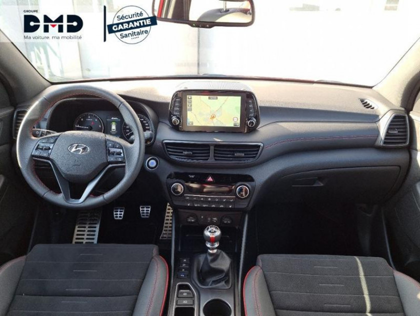 Hyundai Tucson 1.6 Crdi 115ch Hybrid 48v N Line Edition Euro6d-evap - Visuel #5