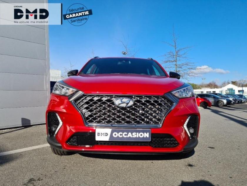 Hyundai Tucson 1.6 Crdi 115ch Hybrid 48v N Line Edition Euro6d-evap - Visuel #4