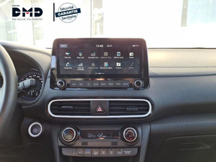 Hyundai Kona 1.6 Gdi Hybrid 141ch Edition 1 Dct-6 Euro6d-t Evap - Visuel #6