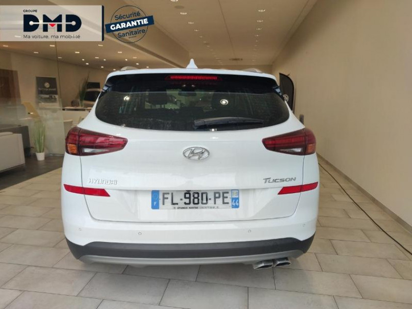Hyundai Tucson 1.6 Crdi 136ch Executive Dct-7 Euro6d-evap - Visuel #11