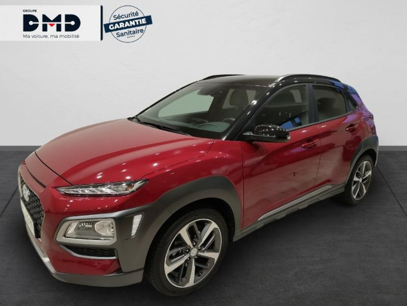 Hyundai Kona 1.0 T-gdi 120ch Fap Executive Euro6d-t Evap - Visuel #1