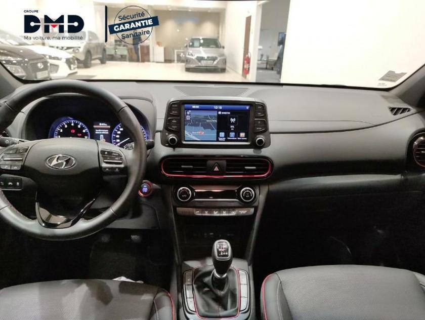 Hyundai Kona 1.0 T-gdi 120ch Fap Executive Euro6d-t Evap - Visuel #5
