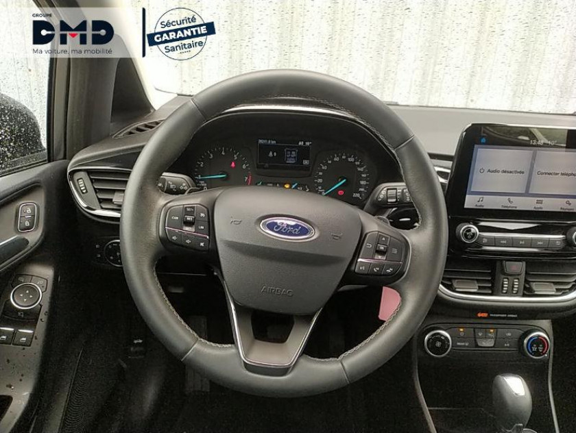 Ford Fiesta 1.0 Ecoboost 100ch Stop&start Trend Bva 5p Euro6.2 - Visuel #7