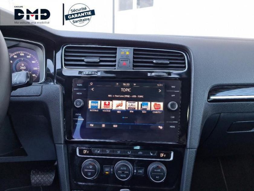 Volkswagen Golf 1.5 Tsi Evo 150ch Carat Dsg7 Euro6d-t 5p - Visuel #6