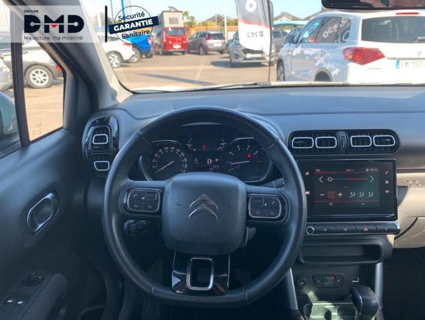 Citroen C3 Aircross Puretech 110ch S&s Feel Eat6 - Visuel #7