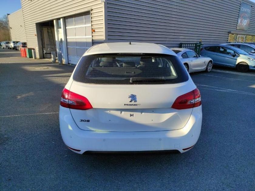 Peugeot 308 Sw 1.5 Bluehdi 130ch S&s Allure Business Eat8 - Visuel #12