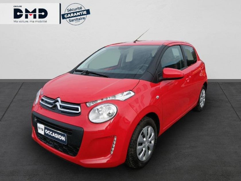 Citroen C1 Airscape Vti 72 S&s Feel 5p E6.d-temp - Visuel #1