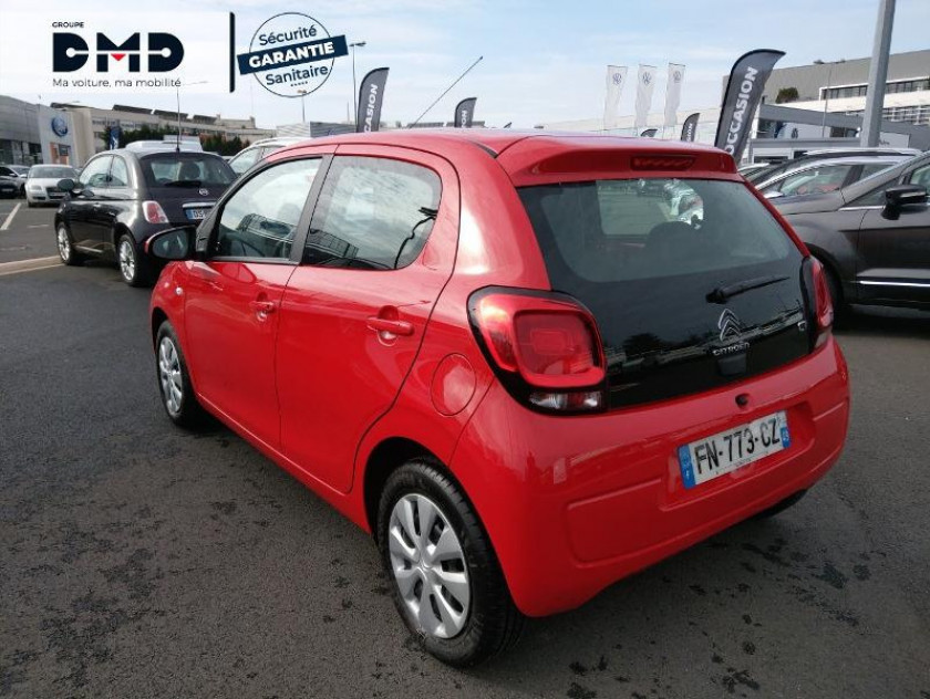 Citroen C1 Airscape Vti 72 S&s Feel 5p E6.d-temp - Visuel #3