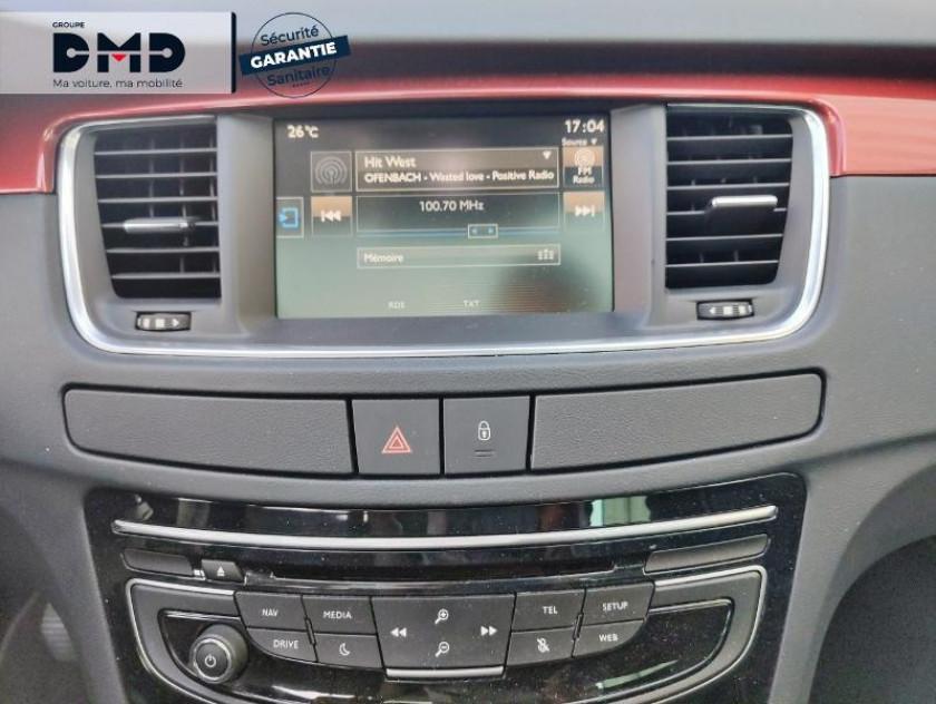 Peugeot 508 Rxh 2.0 E-hdi Fap Etg6 + électrique 37ch Euro6 - Visuel #6
