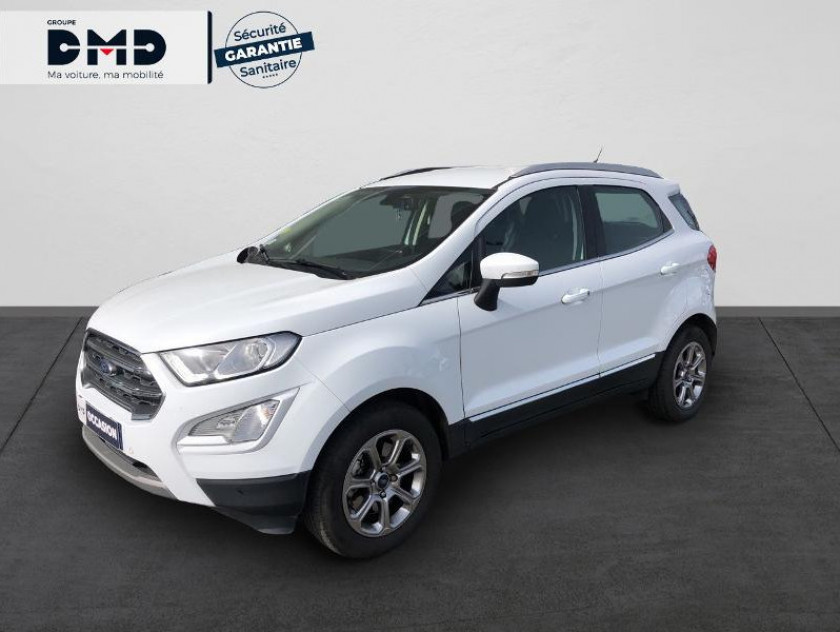 Ford Ecosport 1.5 Tdci 100ch Titanium - Visuel #1