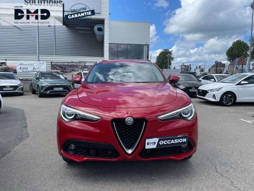 Alfa Romeo Stelvio 2.2 Diesel 210ch Lusso Q4 At8 - Visuel #4