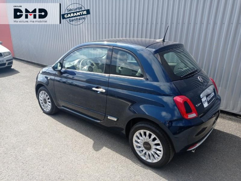Fiat 500 1.2 8v 69ch Eco Pack Lounge Euro6d - Visuel #3