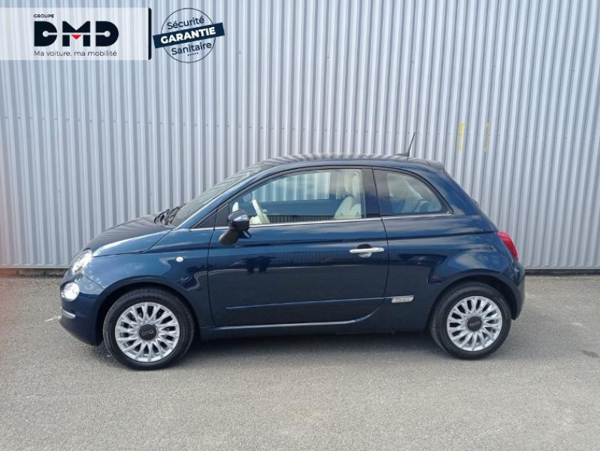 Fiat 500 1.2 8v 69ch Eco Pack Lounge Euro6d - Visuel #2