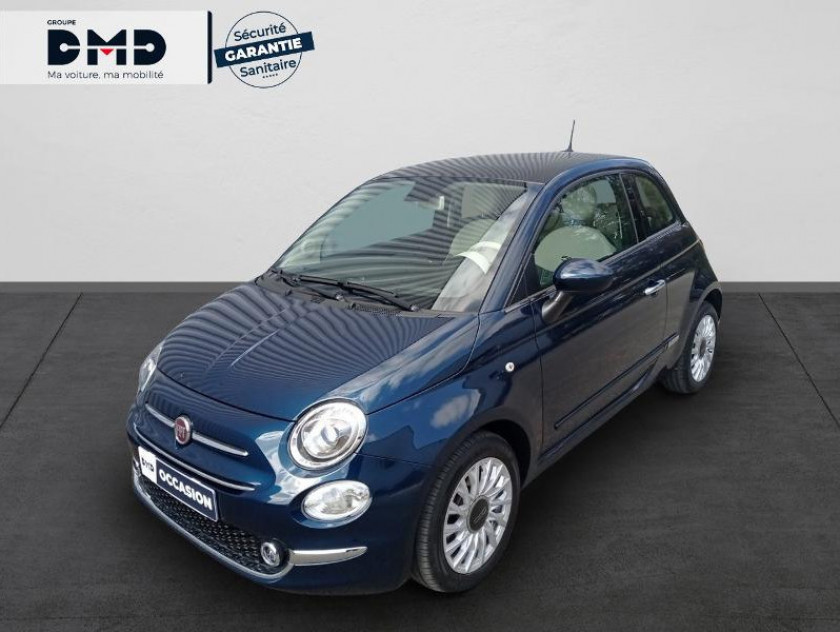 Fiat 500 1.2 8v 69ch Eco Pack Lounge Euro6d - Visuel #1