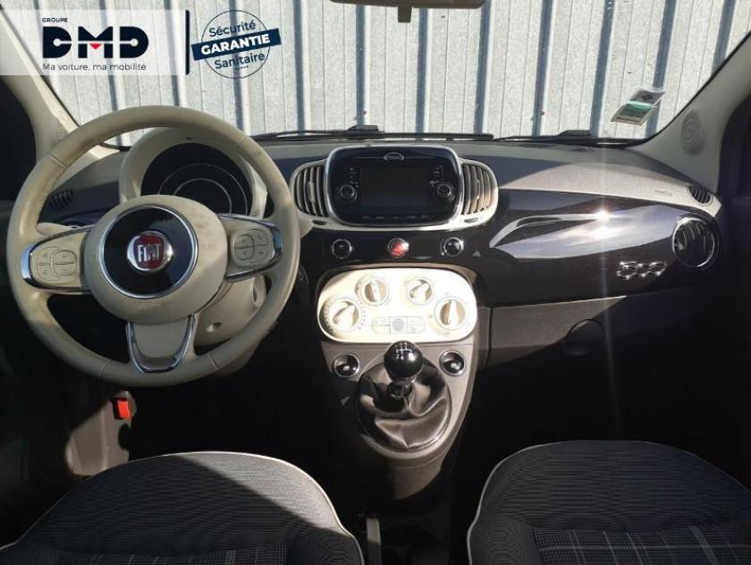 Fiat 500 1.2 8v 69ch Lounge - Visuel #5
