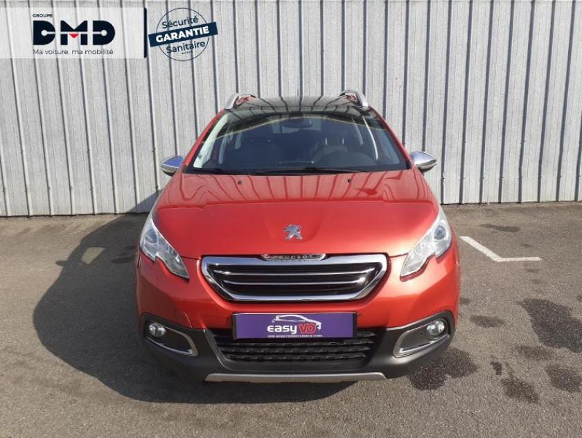 Peugeot 2008 1.6 E-hdi115 Fap Féline Cuivre - Visuel #4