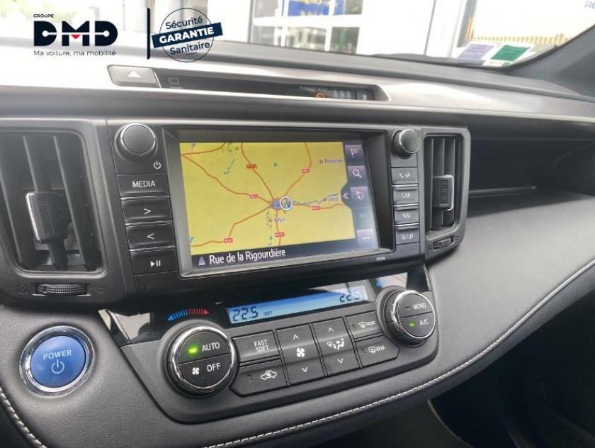 Toyota Rav4 197 Hybride Exclusive 2wd Cvt - Visuel #6