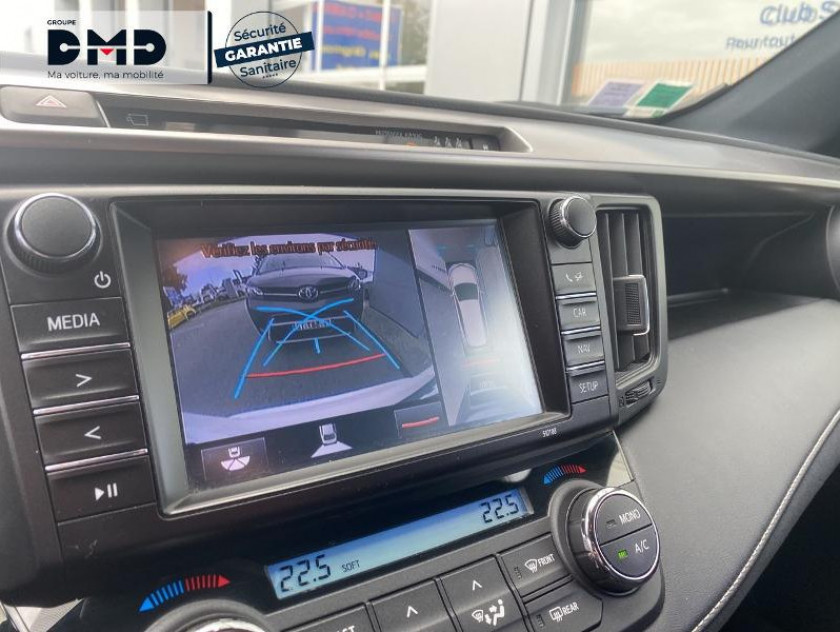 Toyota Rav4 197 Hybride Exclusive 2wd Cvt - Visuel #15