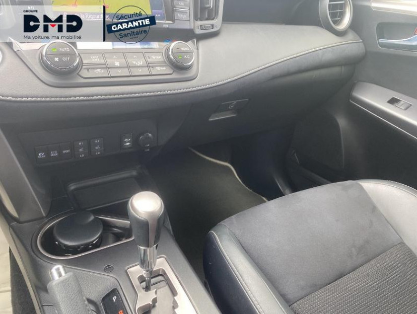 Toyota Rav4 197 Hybride Exclusive 2wd Cvt - Visuel #8