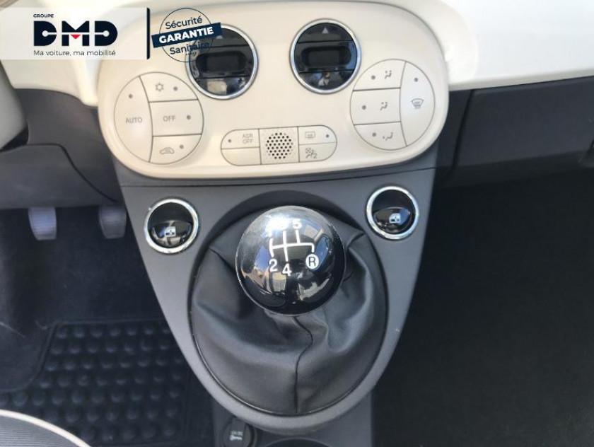 Fiat 500 1.2 8v 69ch Lounge - Visuel #8